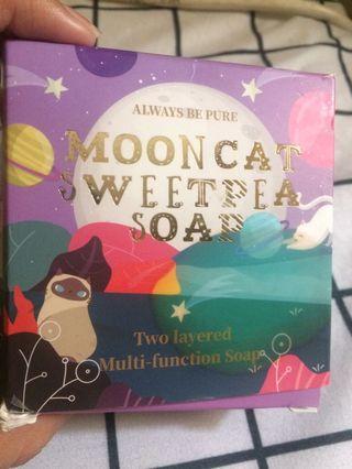 Mooncat Sweetpea Soap