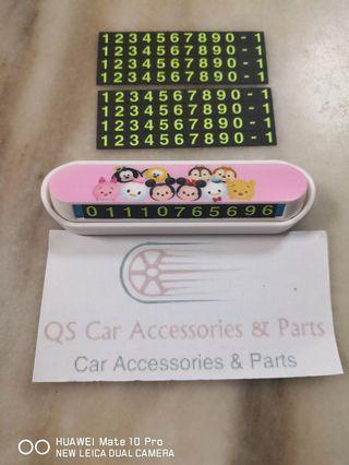 Concealment Parking Card Disney's