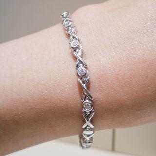 Cross Diamonds Bracelet