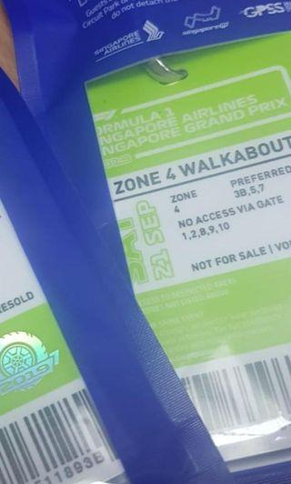 F1 2019 Sat Walkabout Zone 4