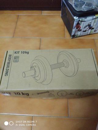 組合式啞鈴10公斤
