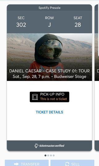 Daniel Caesar Tour Tickets