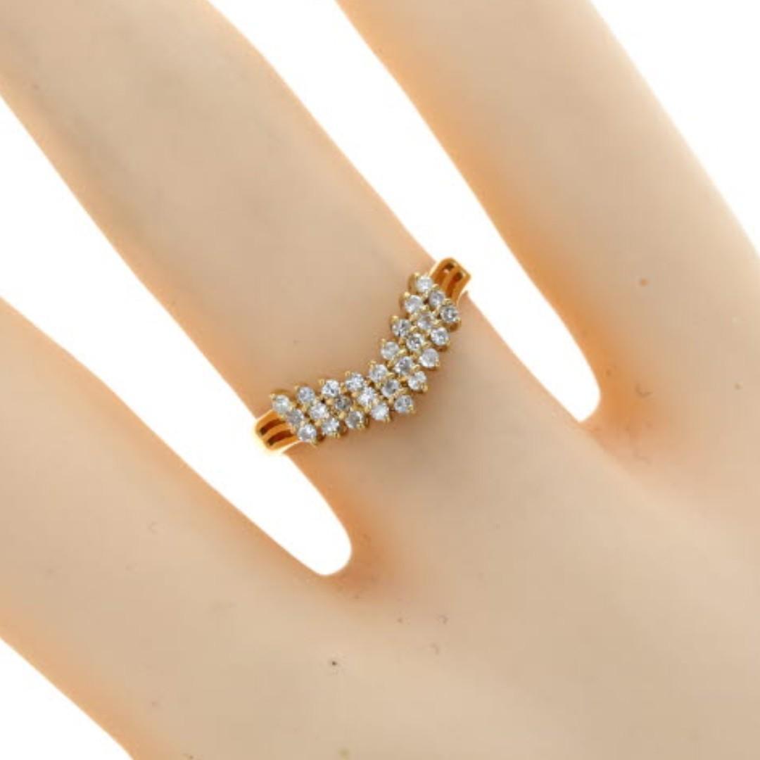 RESERVED - 18k Diamond Ring