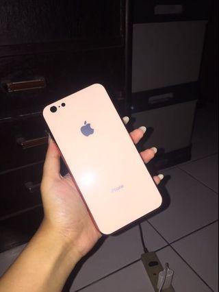 Case Apple Glass Rose Gold Iphone 6+/6s+ SALEEEE!!!