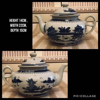 New vintage hand-painted Chinaware Teapot