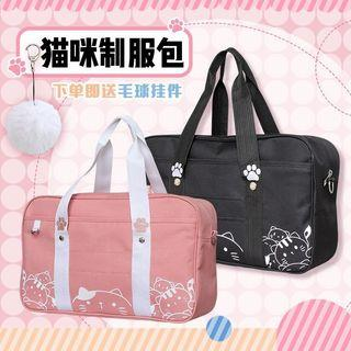 🐱CUTE CAT THEMED JAPANESE STUDENT JK UNIFORM COSPLAY SCHOOL BAG WOMEN FASHION-2 COLORS🐱