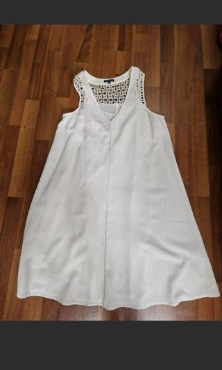 Warehouse white dress