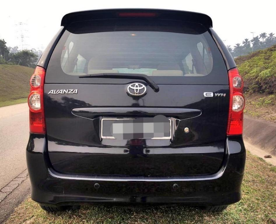2008 Toyota AVANZA 1.3 E FACELIFT (M) B/L LOAN KEDAI DP 1K