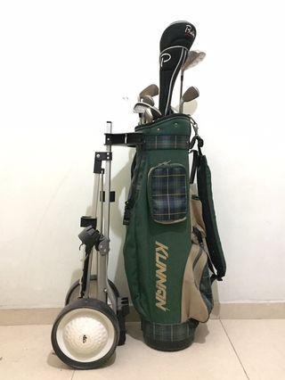 Golf Set & Cart