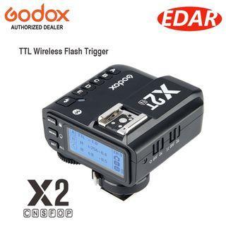 Godox X2 2.4 GHz TTL Wireless Flash Trigger
