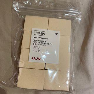 全新 韓國 JAJU 海綿 makeup sponge