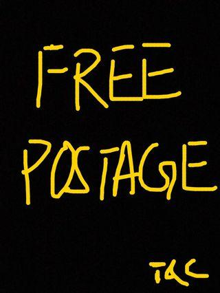 Free postage with purchase above RM40!