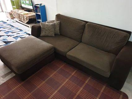 L Shape Sofa Cavasso
