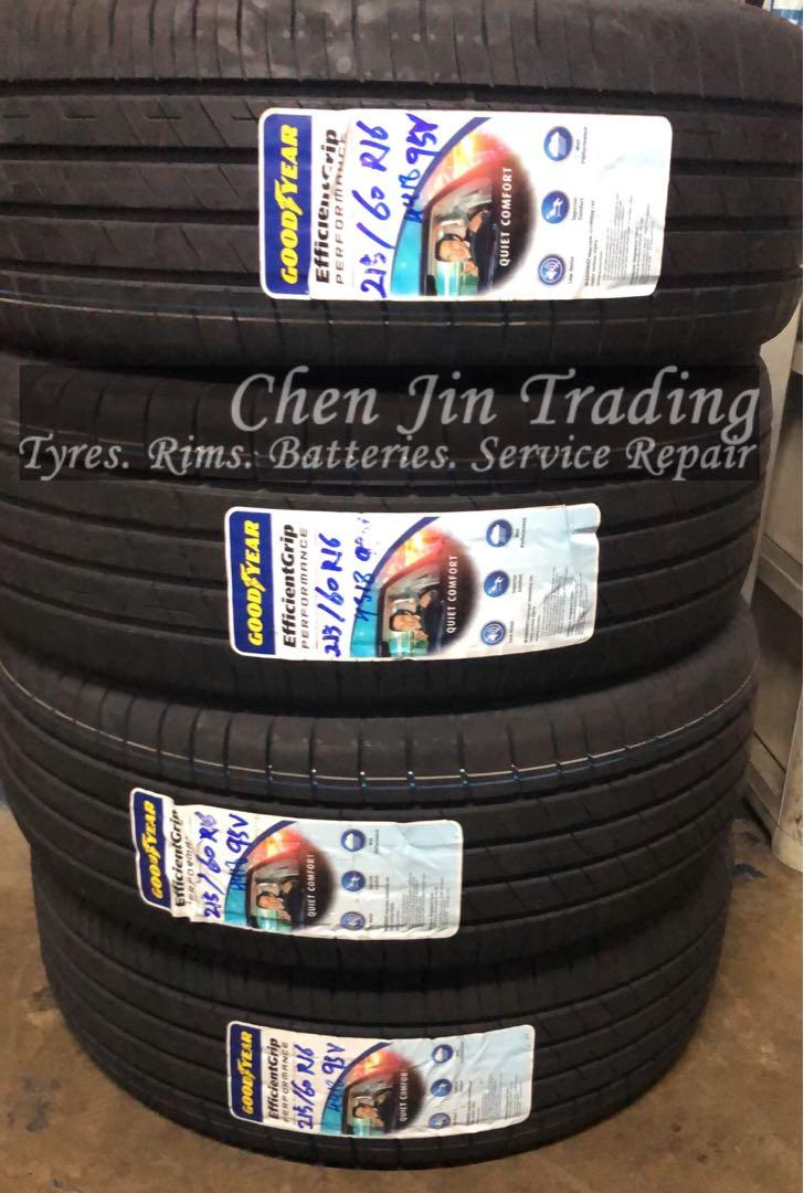 4pcs 215/60/16 Goodyear Efficientgrip Performance tyre
