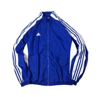USA vintage  adidas stripes windbreaker