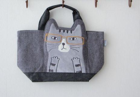日本貓咪帆布包