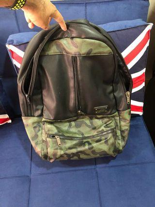 Leather Backpack - capacity around 40 litres