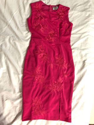 Elegance Pink  Dress