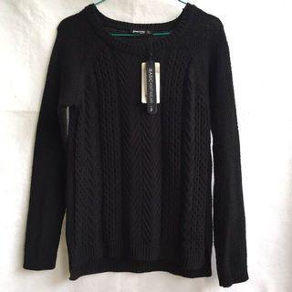 Stradivarius Black Sweater