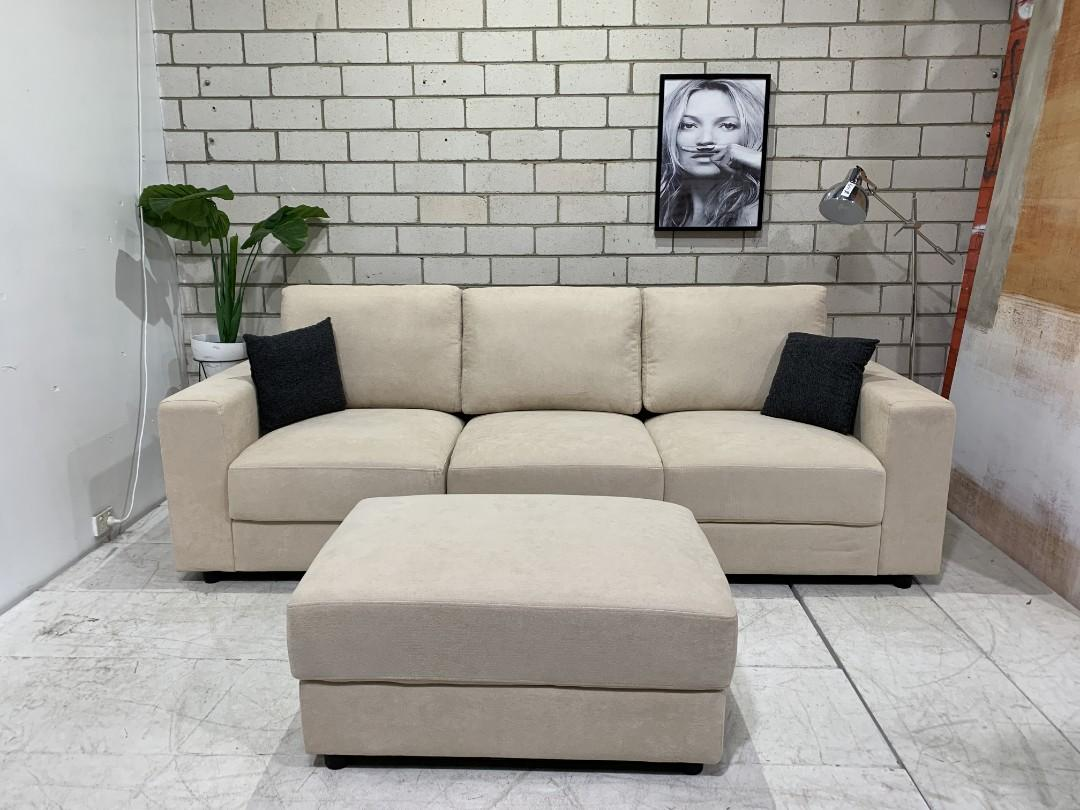 3 Seater Sofa Ottoman Furniture Clearance Warehouse