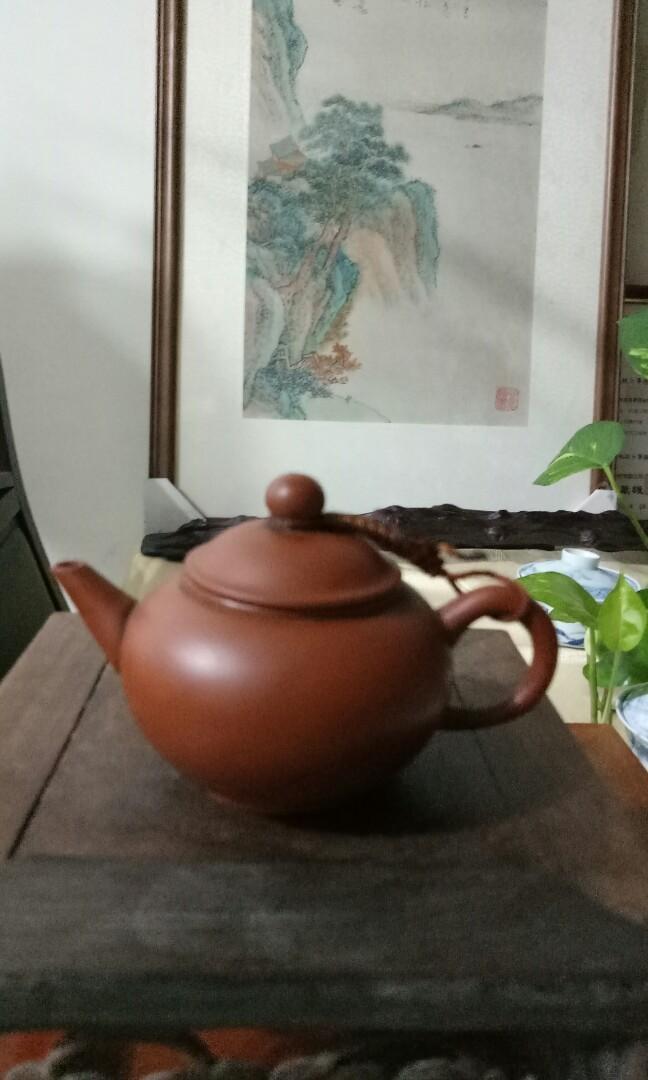 中國宜興紫砂壺(50cc小壺)