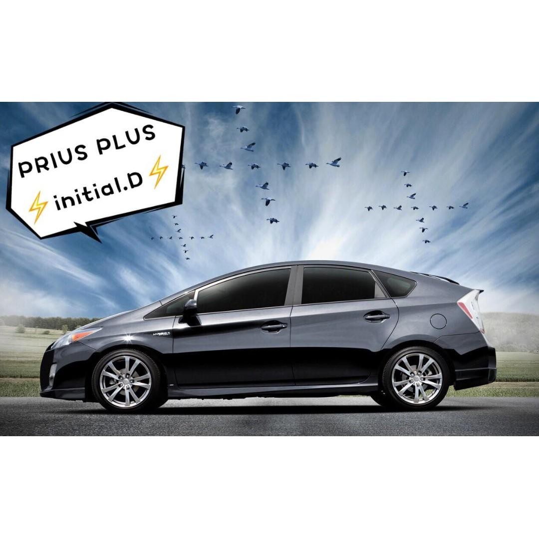 🚗7 seaters MPV Prius Plus Free rental 18days/ 50% shell discount