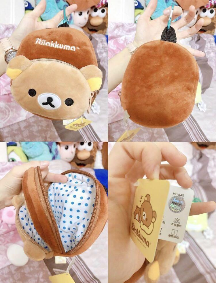 綜合小袋/隨身包/束口袋(拉拉熊/米妮/角落生物)