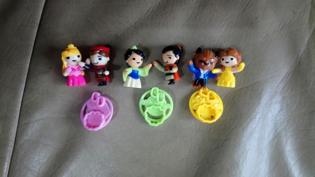 健達奇趣蛋玩具(公主系列)