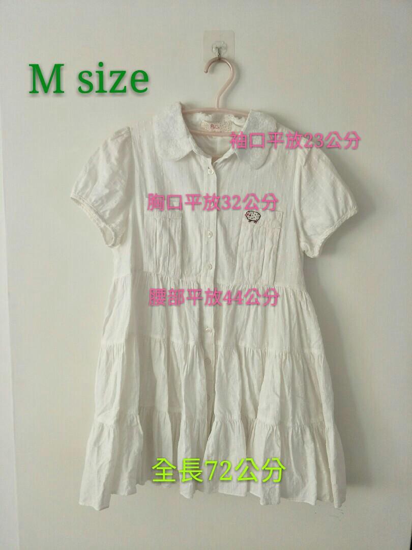 純白清純系列白洋裝