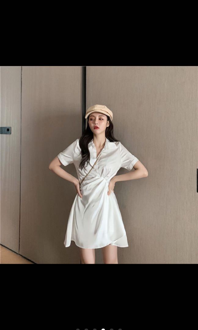 設計感襯衫洋裝