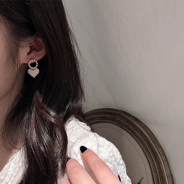 正韓預購 質感耳環可改夾式