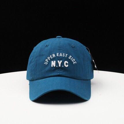 全新出清🔥 AVENIR | NYC英文刺繡 軟頂 棒球帽/老帽/彎帽/鴨舌帽 情侶男女