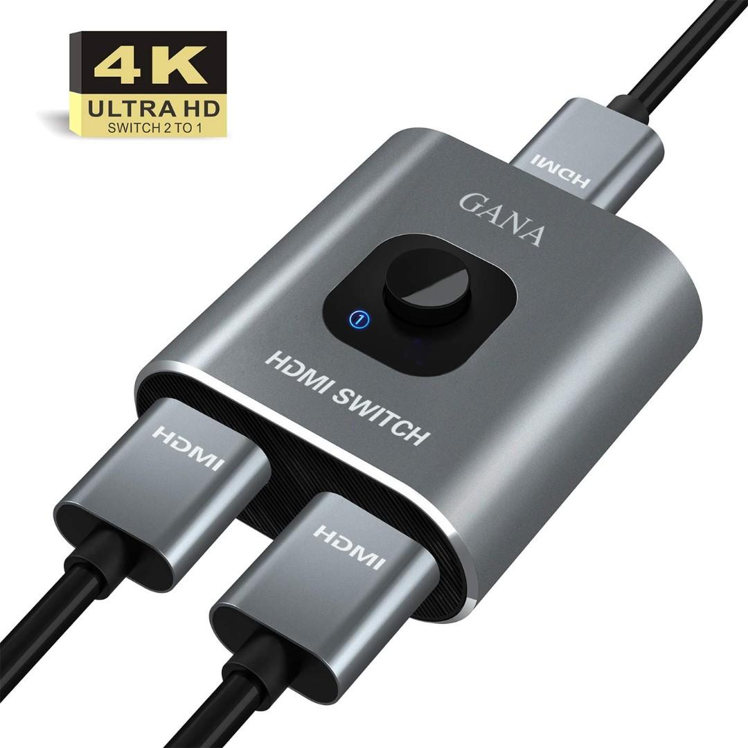 HDMI Splitter Bidirektional 1 In 2 Out //2 Input 1 Output Switch-Techole