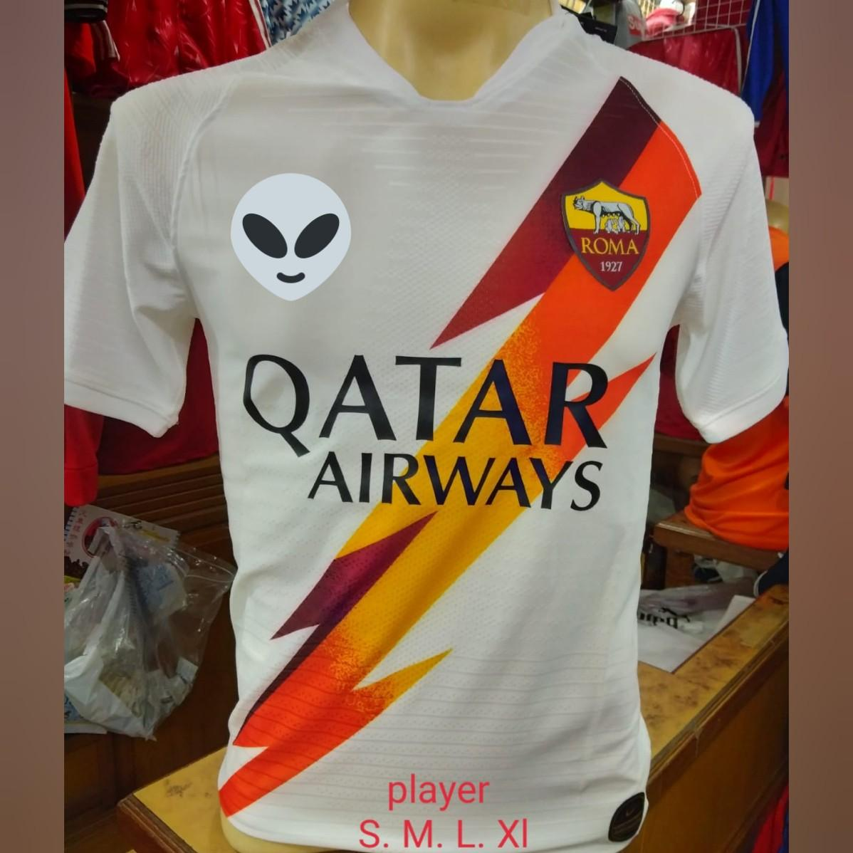 AS Roma 1920 Away, Sports, Sports Apparel on Carousell