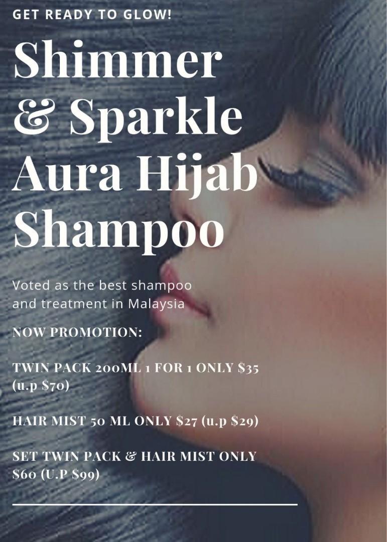 Aura hijab shampoo