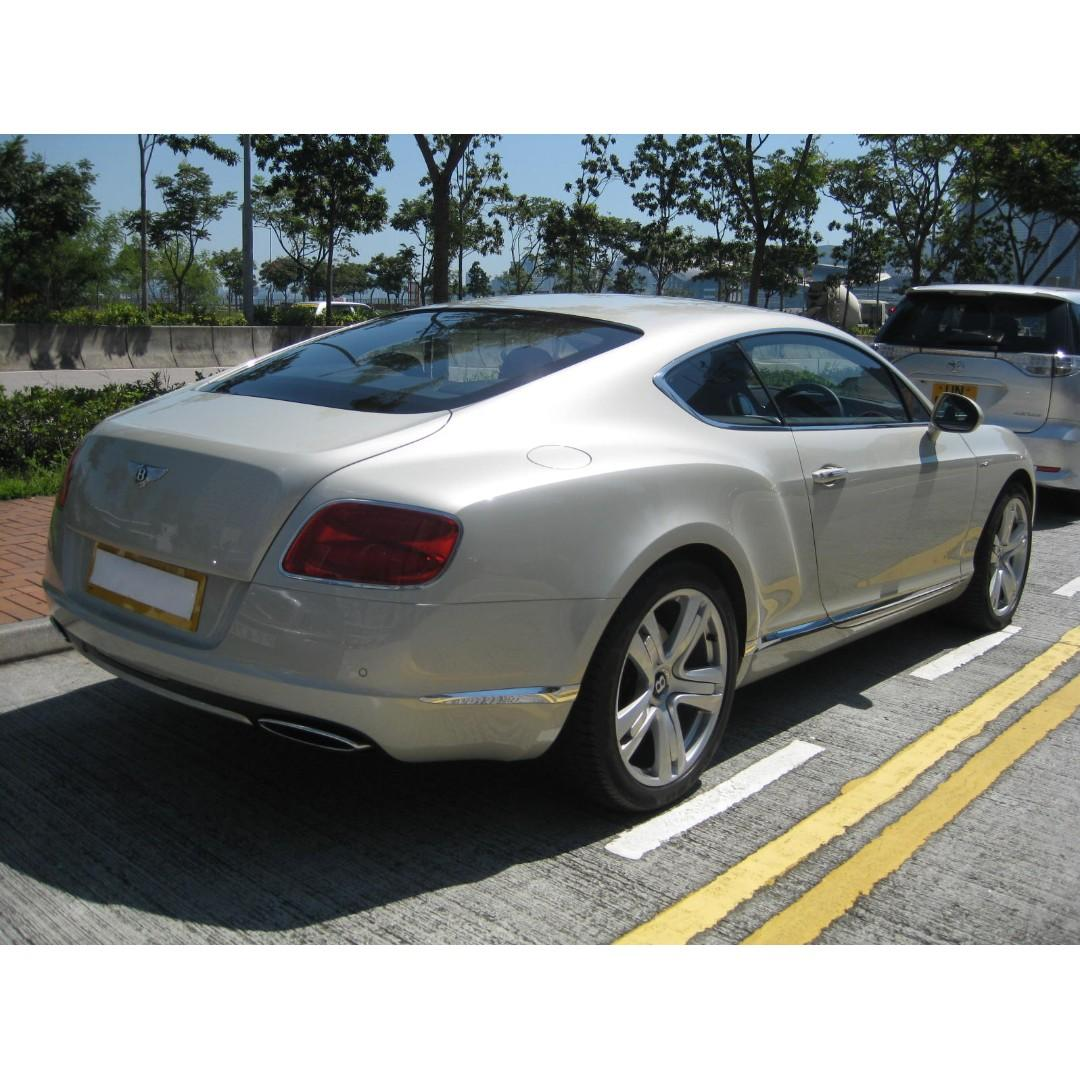2015 BENTLEY CONTINENTAL GT W12