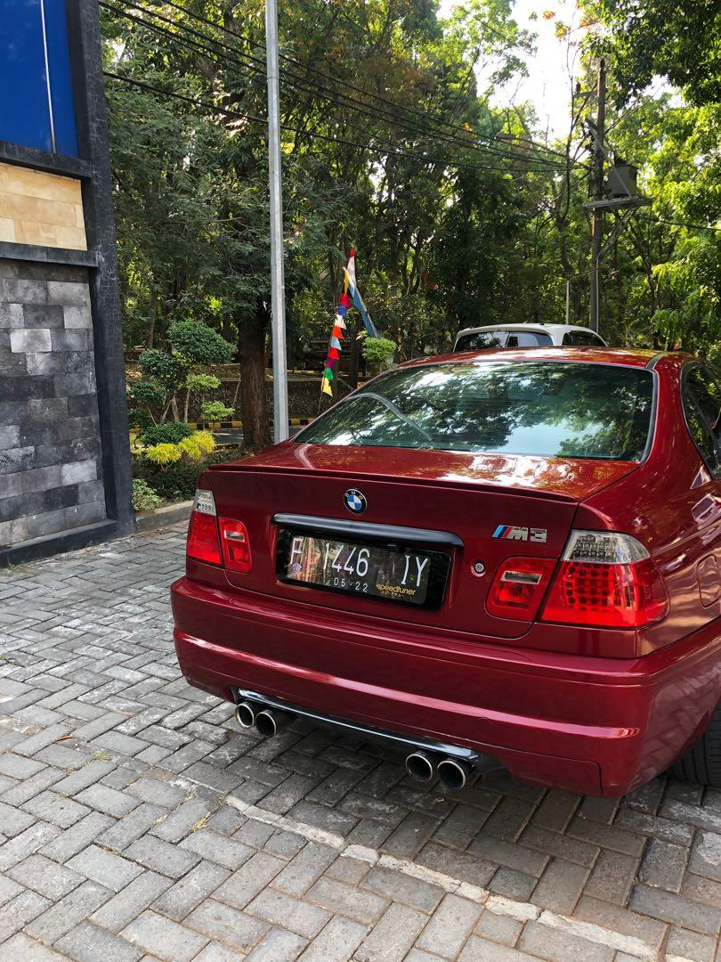BMW E46 318i tahun 2002 FULL M3 package limited m3 colour mesin m43