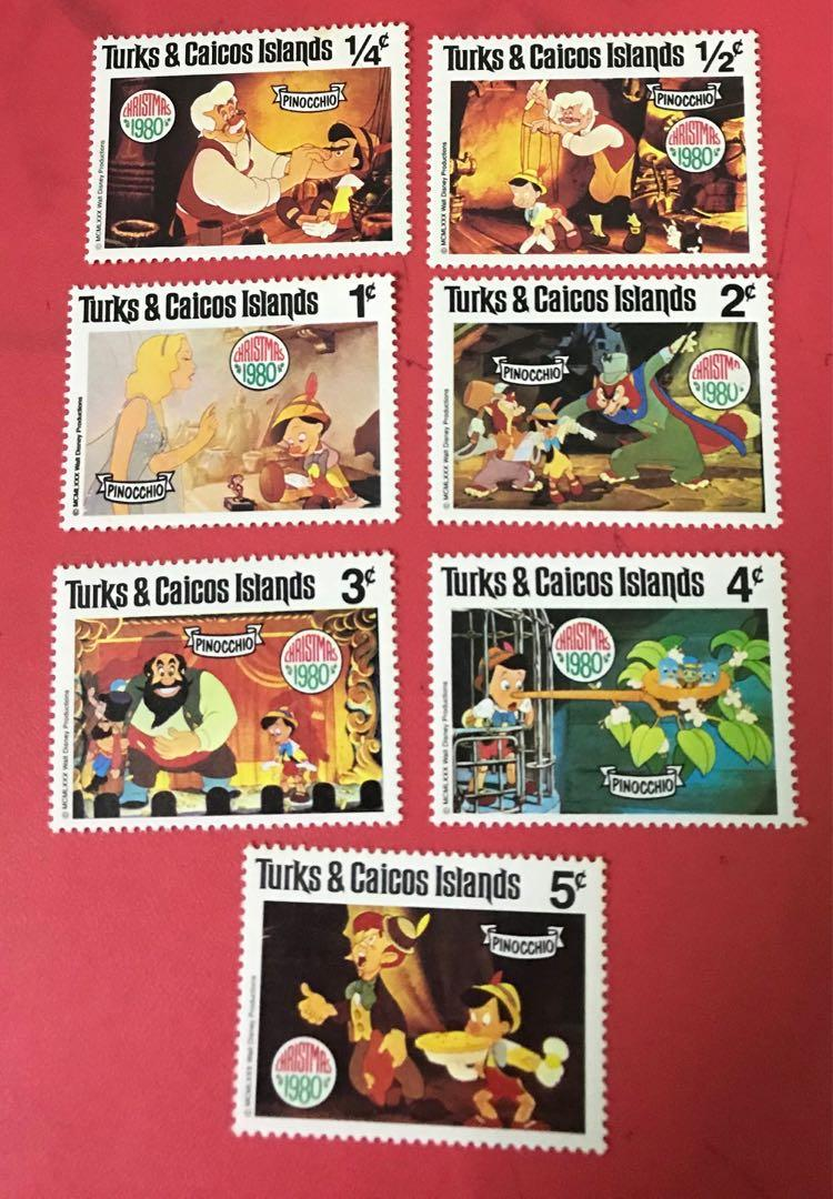 Cartoon mint stamp as in pictures