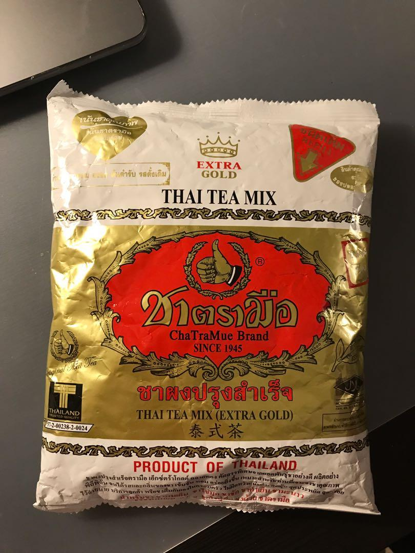 ChaTraMue Thai Tea (Extra Gold) Bag