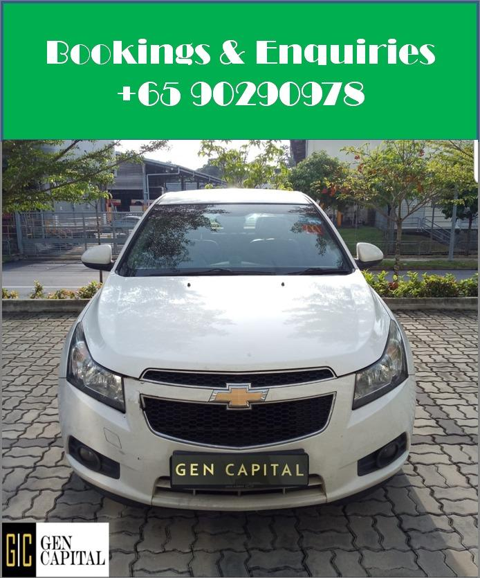 Chevrolet Cruze 1.6A - Cheapest rental in city, quickest assistance!