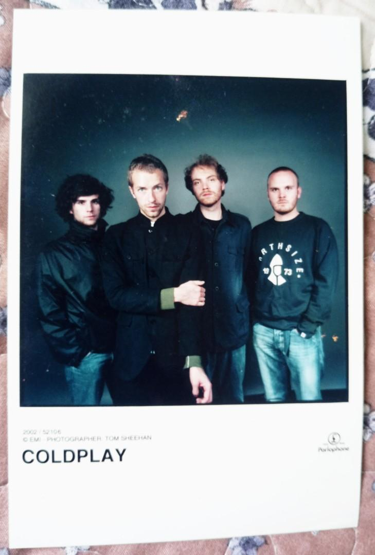 Cold Play Official Picture