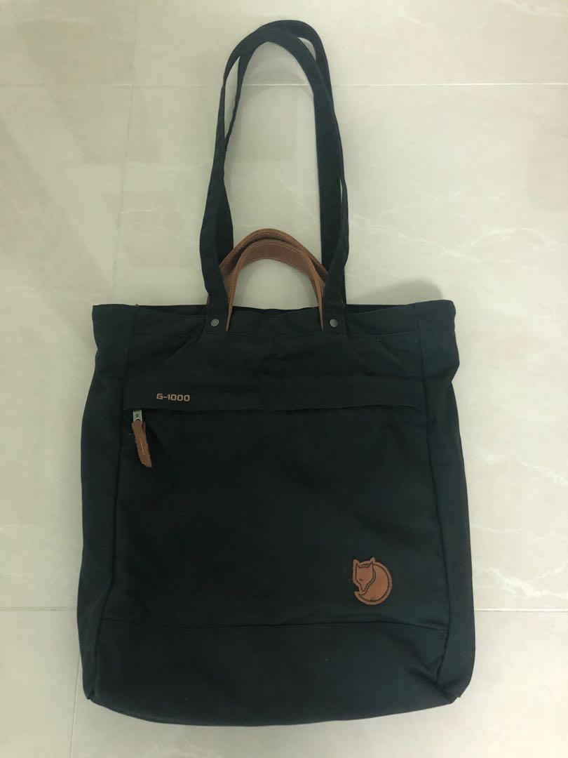 包郵 Fjallraven G-1000 Totepack  No.1 背囊側揹兩用袋