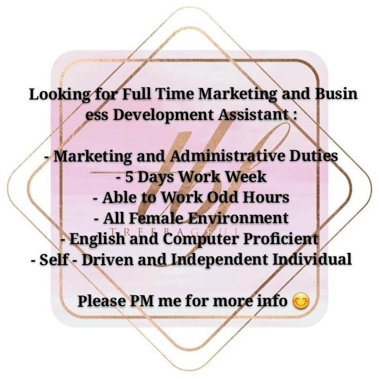 Full Time Marketing and Business Development Assistant
