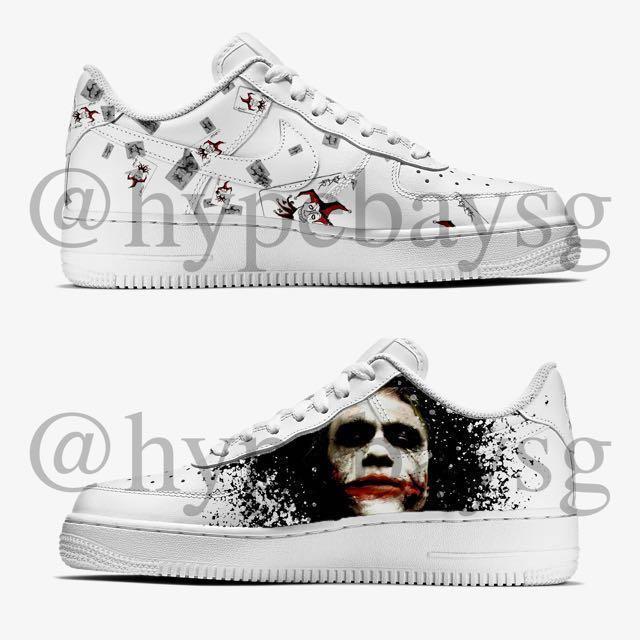 madeinsg Joker Nike Air Force 1 Custom
