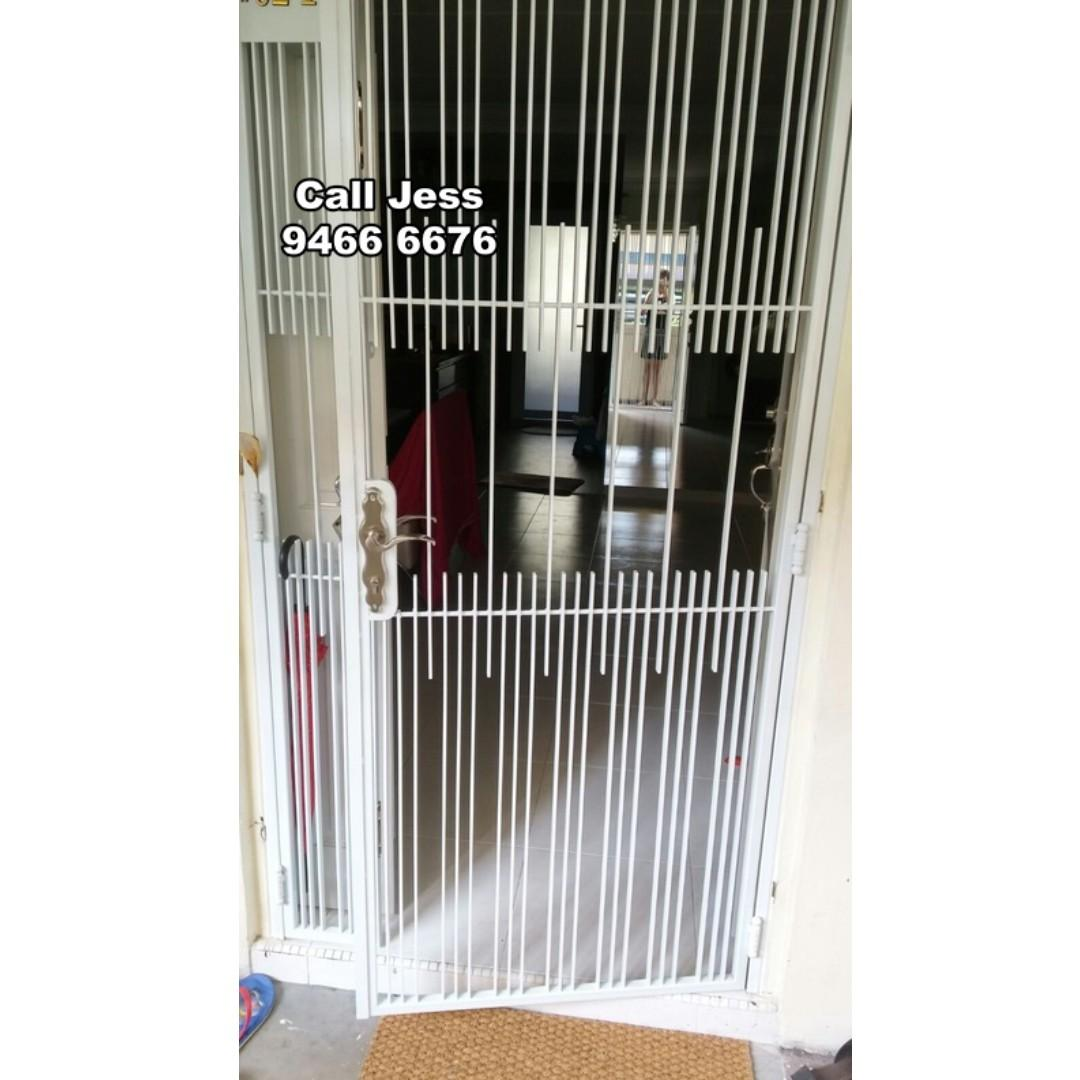 HDB Mild Steel gate you choose the design like you want to do