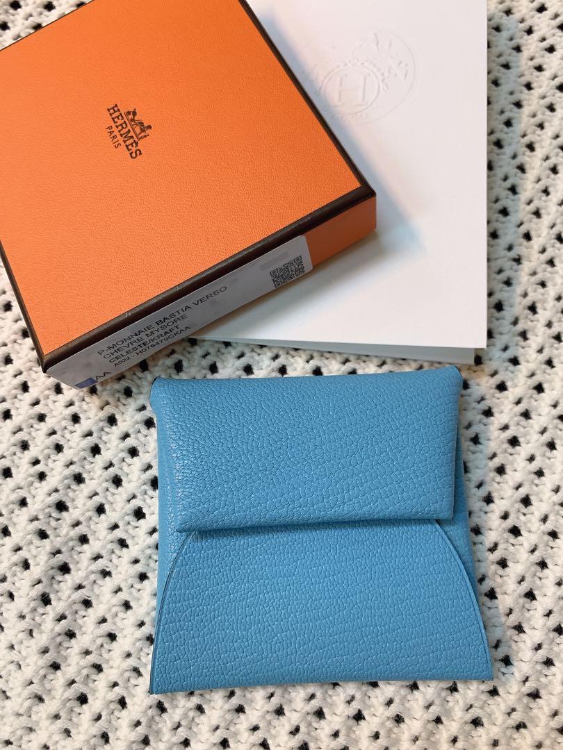 愛瑪仕Hermès Bastia Verso 方型零錢包(已售)