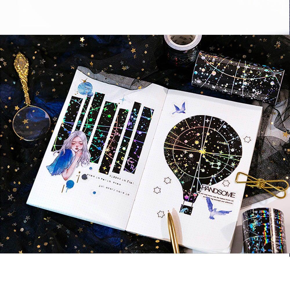 [INSTOCKS] starry night galaxy washi tape