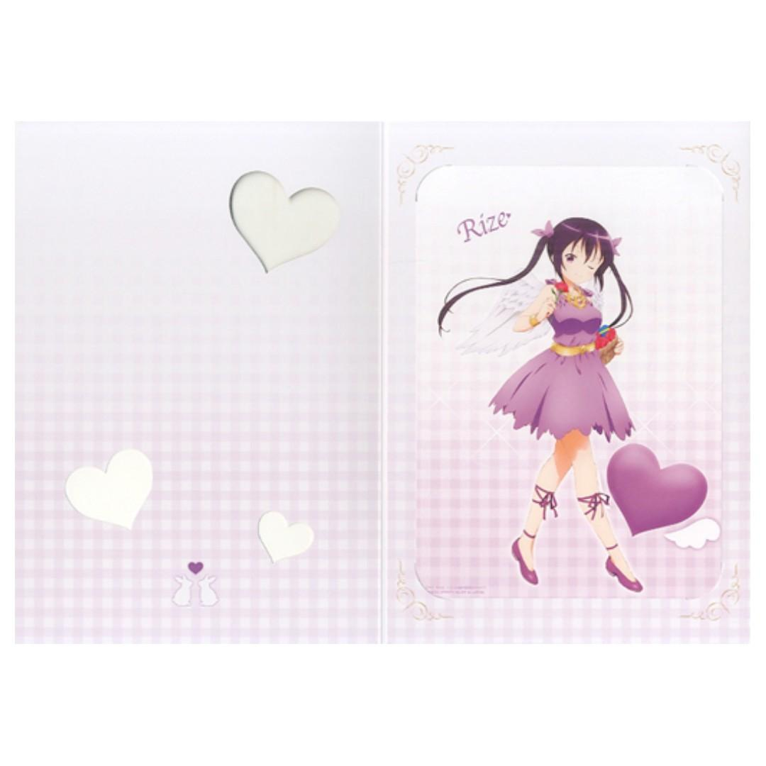 Is the order a rabbit?? - Chiya / Rize - Mini Poster with Mount