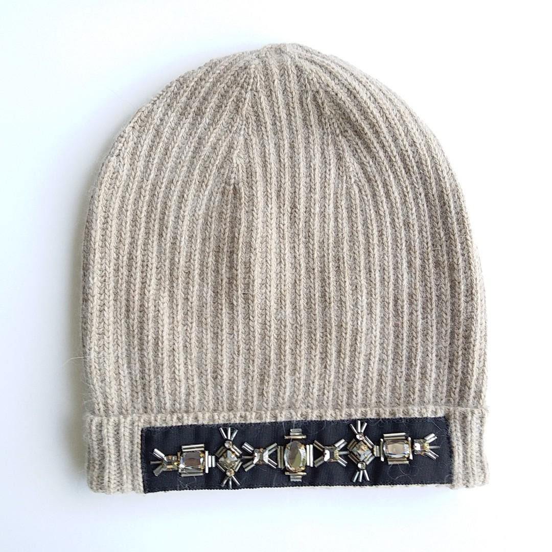 Kate Spade New York Beige / Brownish Color Winter Hat - One Size NWOT