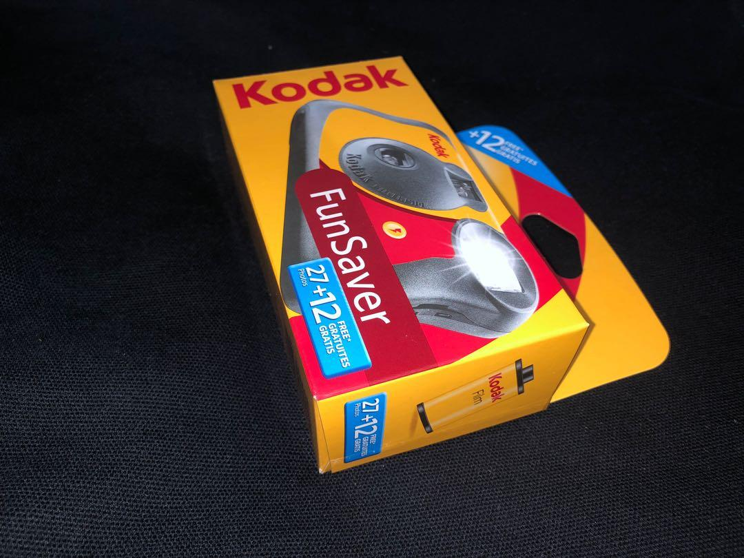 Kodak Funsaver Disposable Camera 27+12 photos